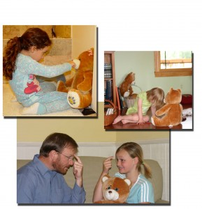 Gyermekek kezelése ÉFT-vel.