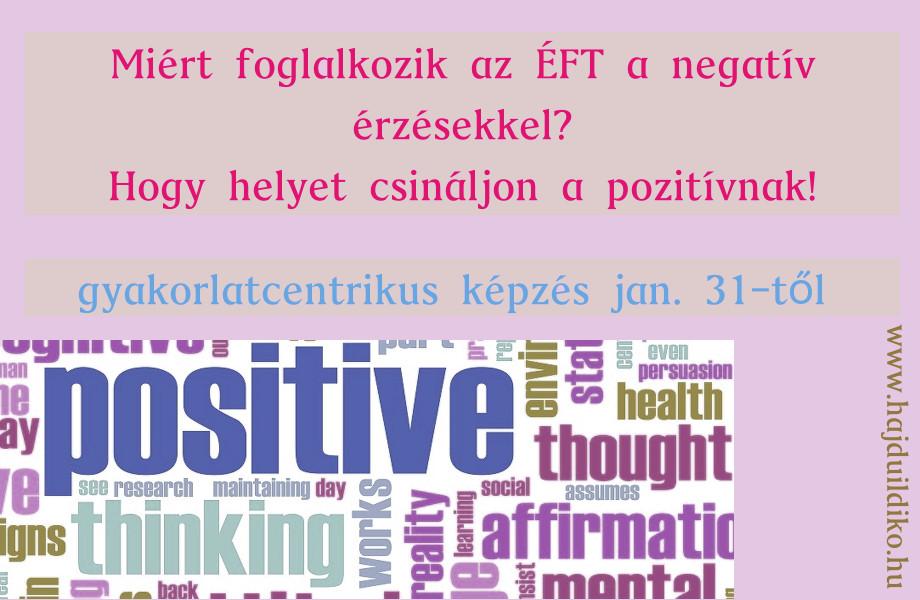 pozitív ÉFT