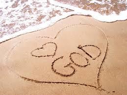 szív a homokban
