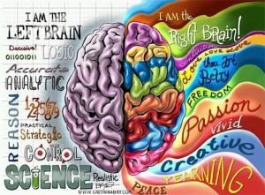 Jobb és bal agyfélteke