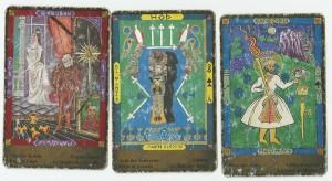 Tarot: 1. Fernc József 2. Zehmet 3. Fáklyás apród