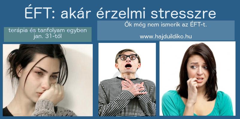 ÉFT stressz oldására