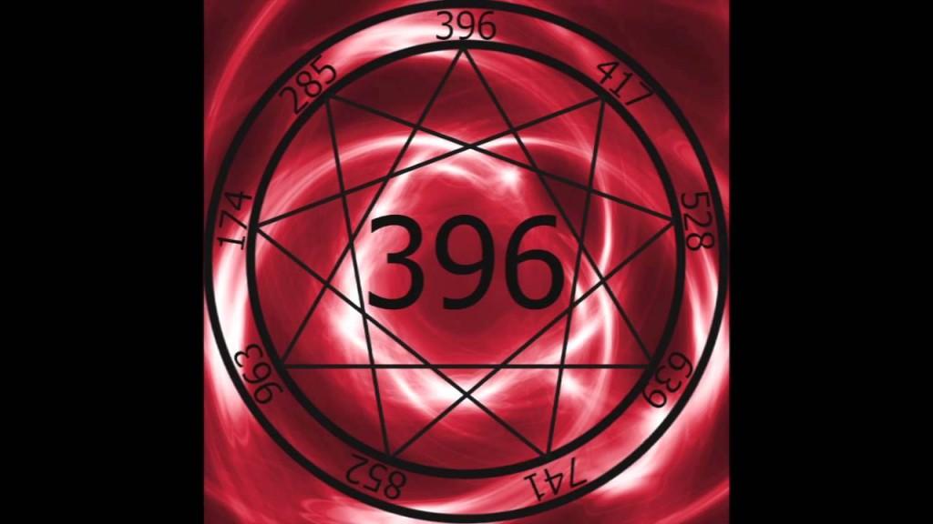 396-os frekvencia. Színe a vörös.