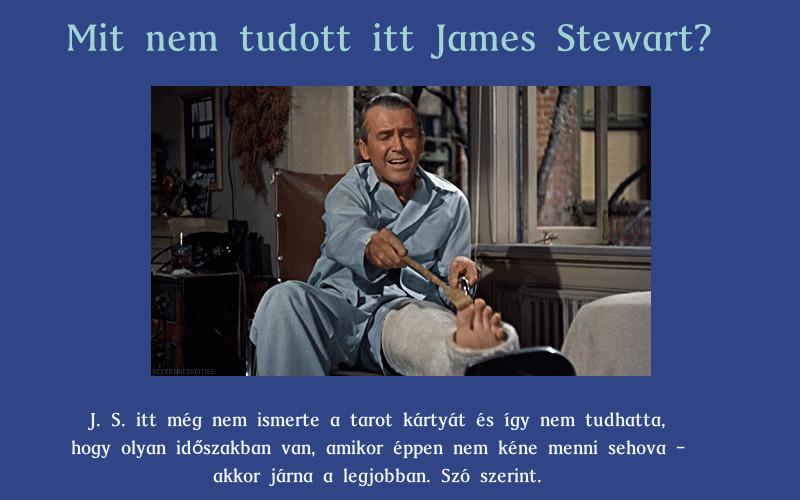 James Stewart és a tarot kártya