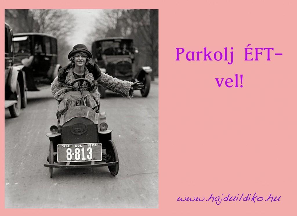 parkolj ÉFT-vel