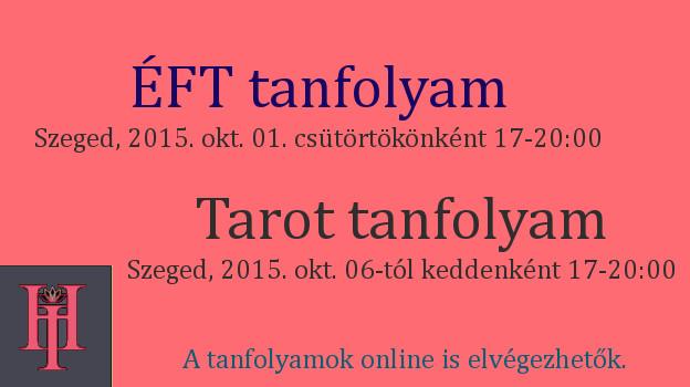 ÉFT és Tarot plakát