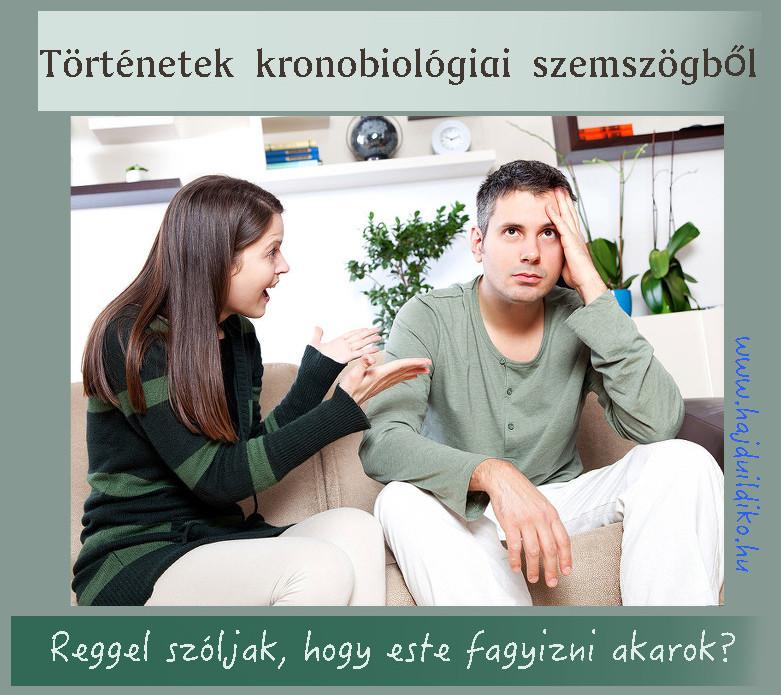 Kronobiológia - útmutató az eltérő adottságokkal született  emberek számára. Önismeretet  ad és a másik elfogadását is segíti.