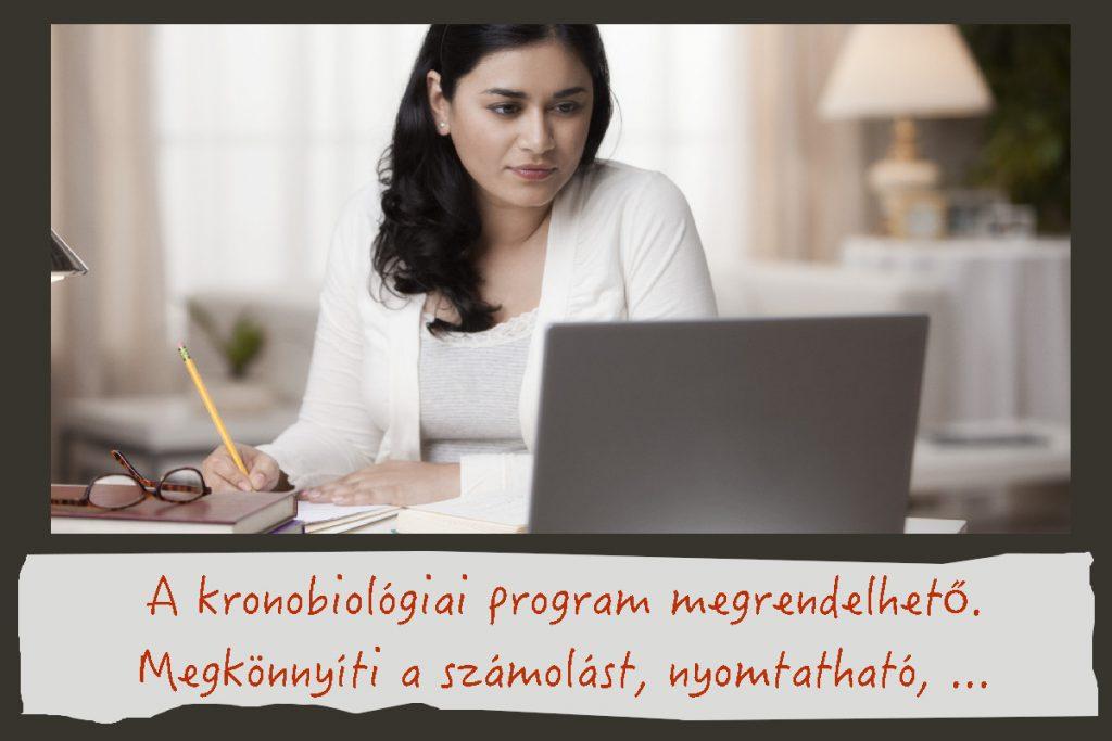 Kronobiológiai számolóprogram