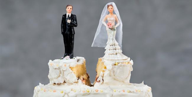 Válás közvetlen esküvő után.