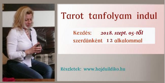 Tarot tanfolyam 2018