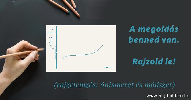 Rajzelemzés - rajzteszt: önismeretet és módszer. A rajzelemzés megtanulható Hajdú Ildikónál.