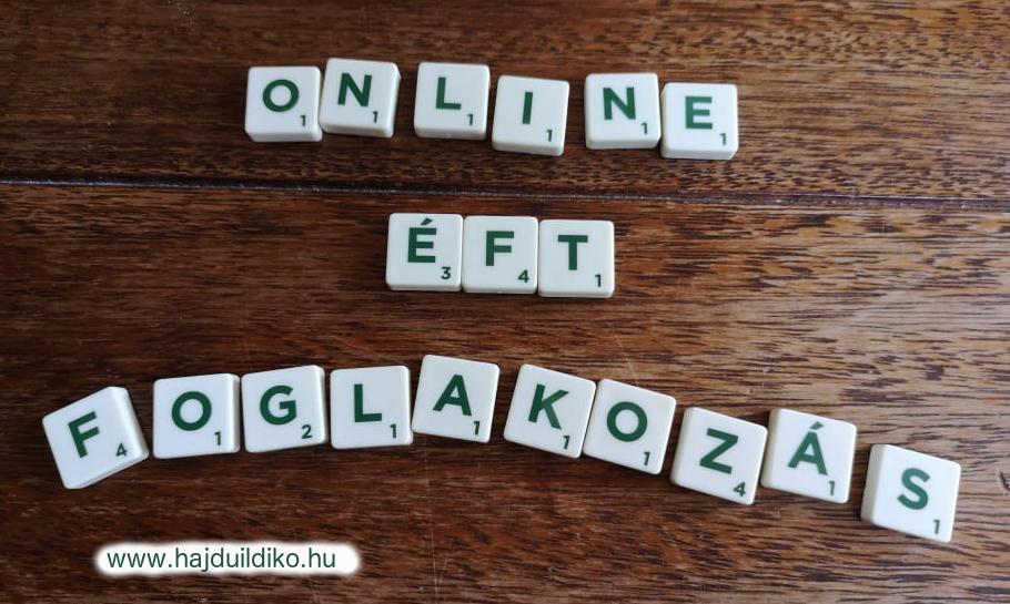 online ÉFT foglalkozás